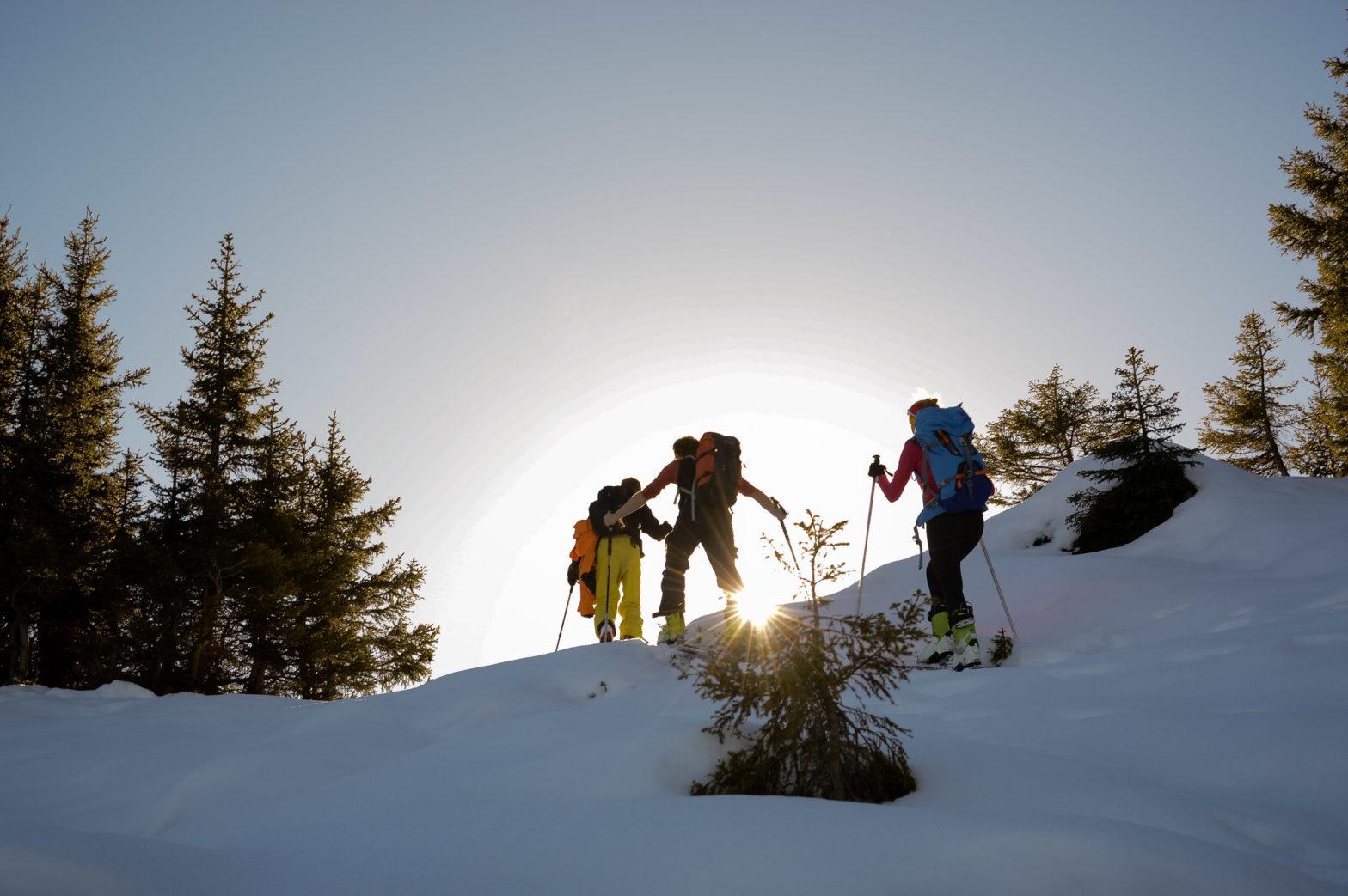 faire du ski de randonnée